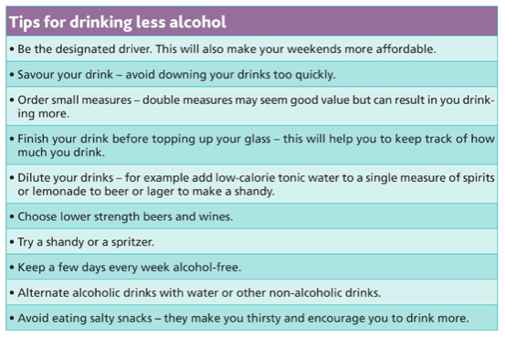 Drinking less alcohol is just one of the things you can do to lower your risk of developing cancer