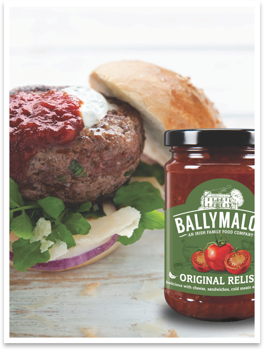Ballymaloe Beef Burger with Ballymaloe Relish