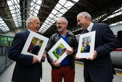 Sean Boylan, Michael Murphy and Tony Ward at Heroes of Hope launch