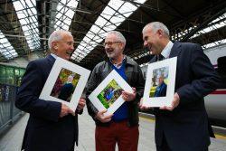 Sean Boylan, Michael Murphy and Tony Ward at Heroes of Hope launch