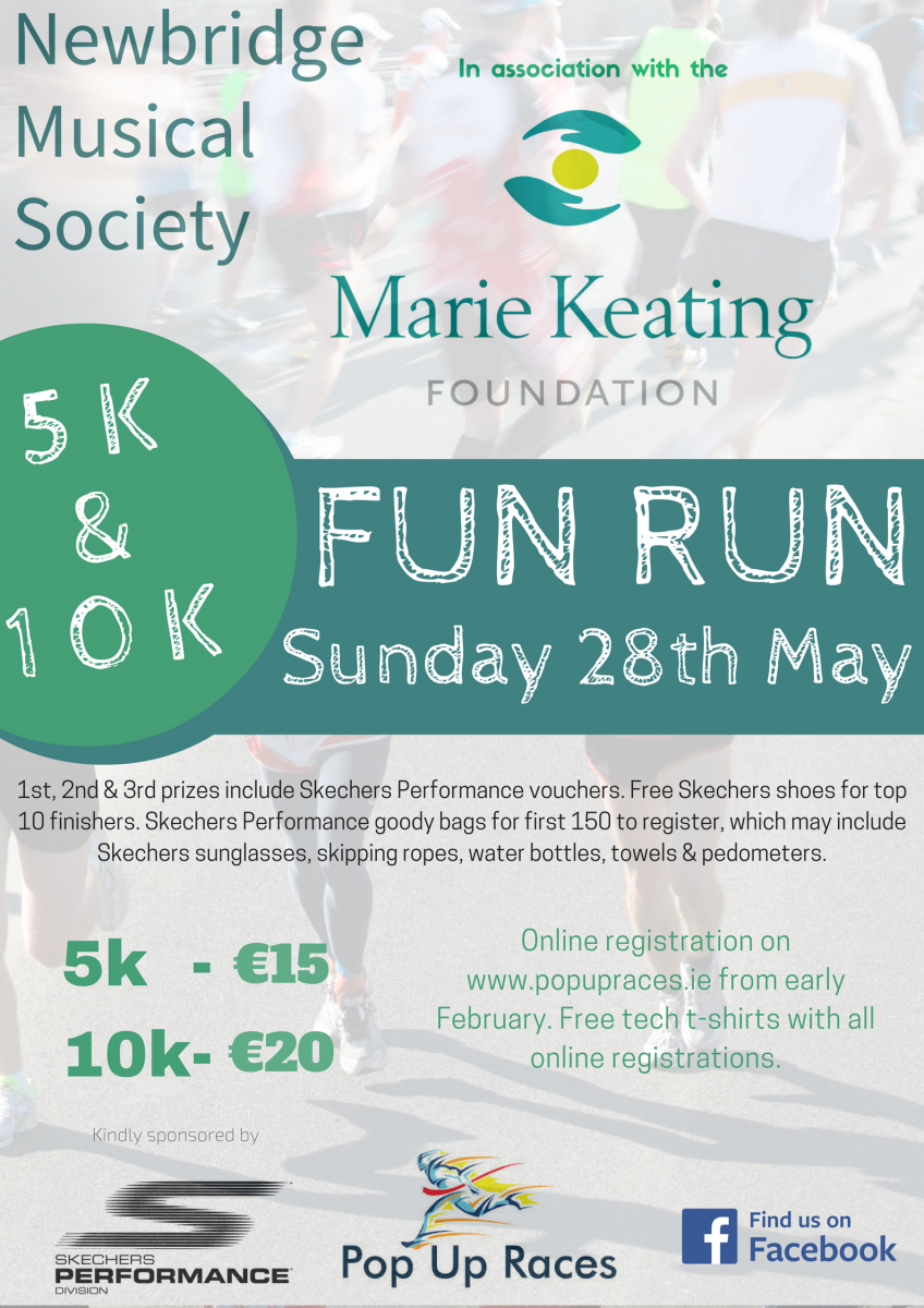 Newbridge Musical Society Fun Run