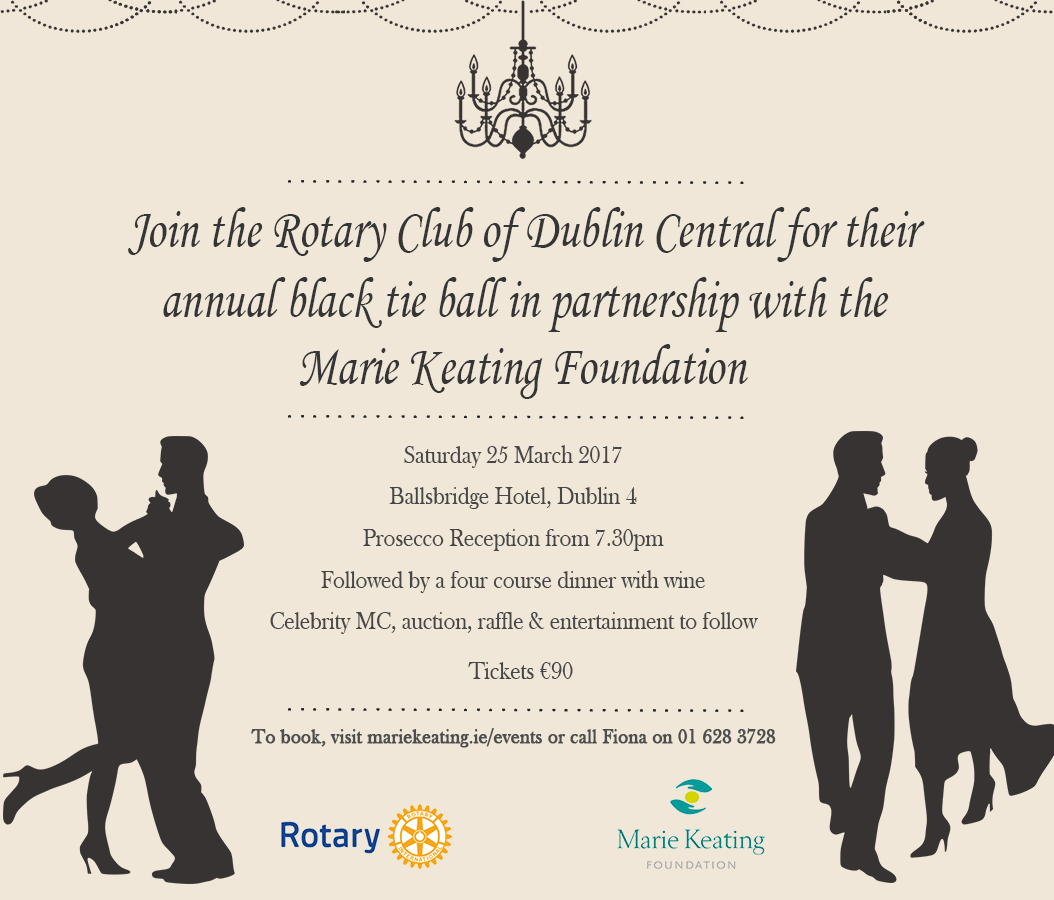 Rotary Club of Dublin Central Black Tie Ball