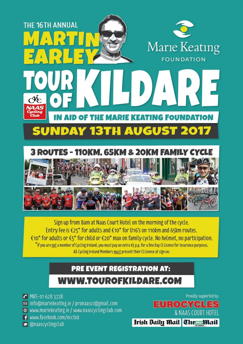 Martin Earley Tour of Kildare 2017