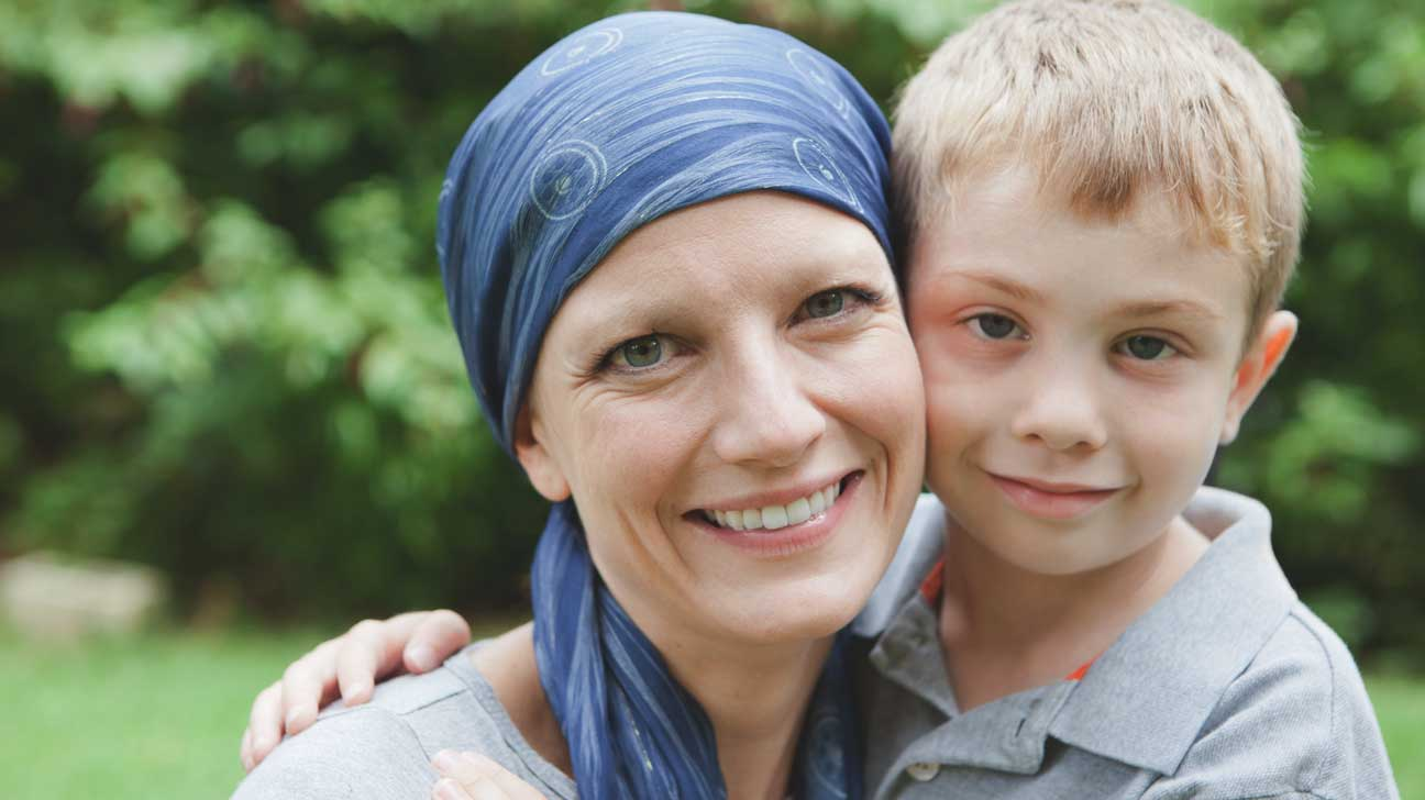 Positive Living- Talking to children about cancer