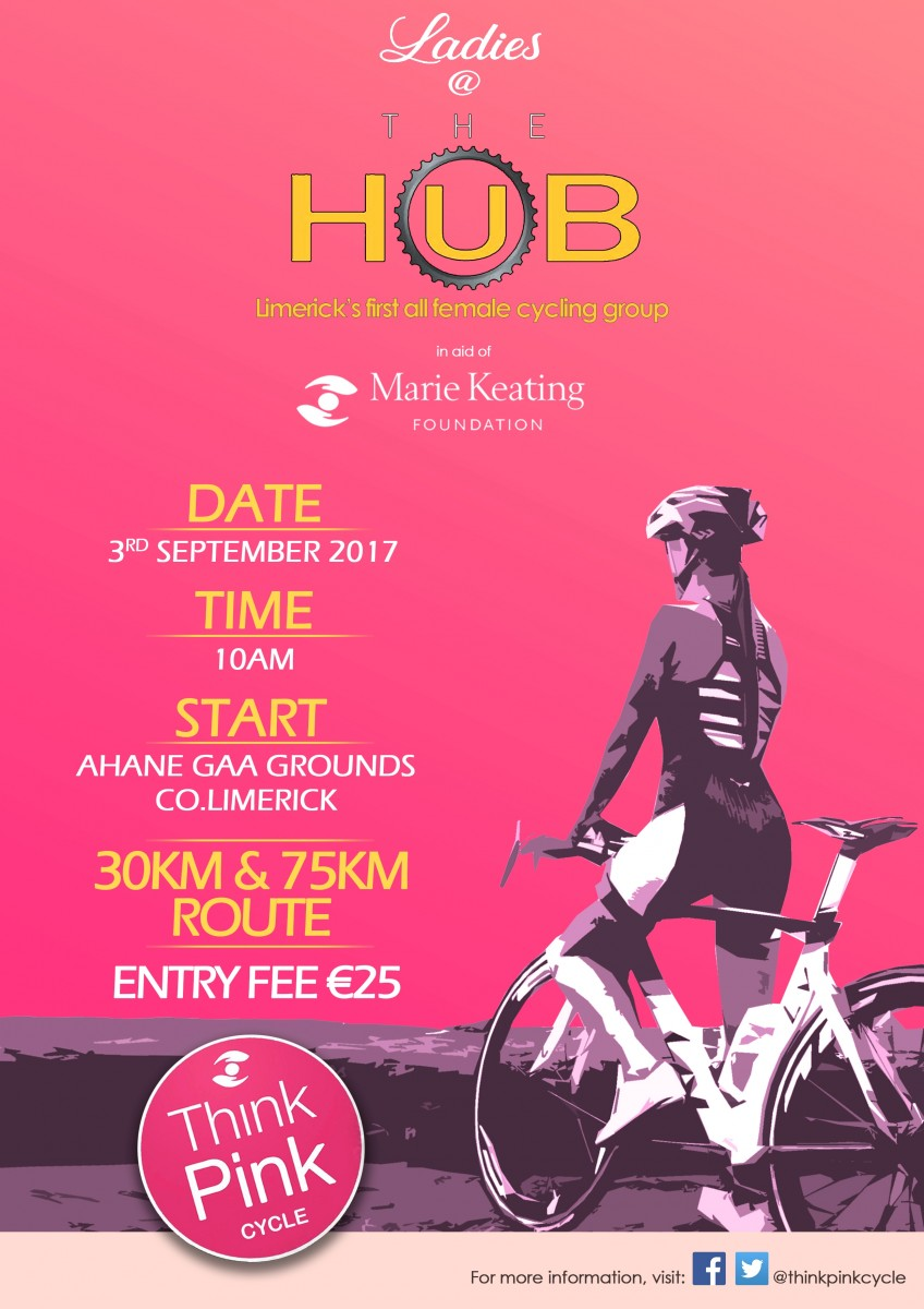 Think Pink Cycle Limerick