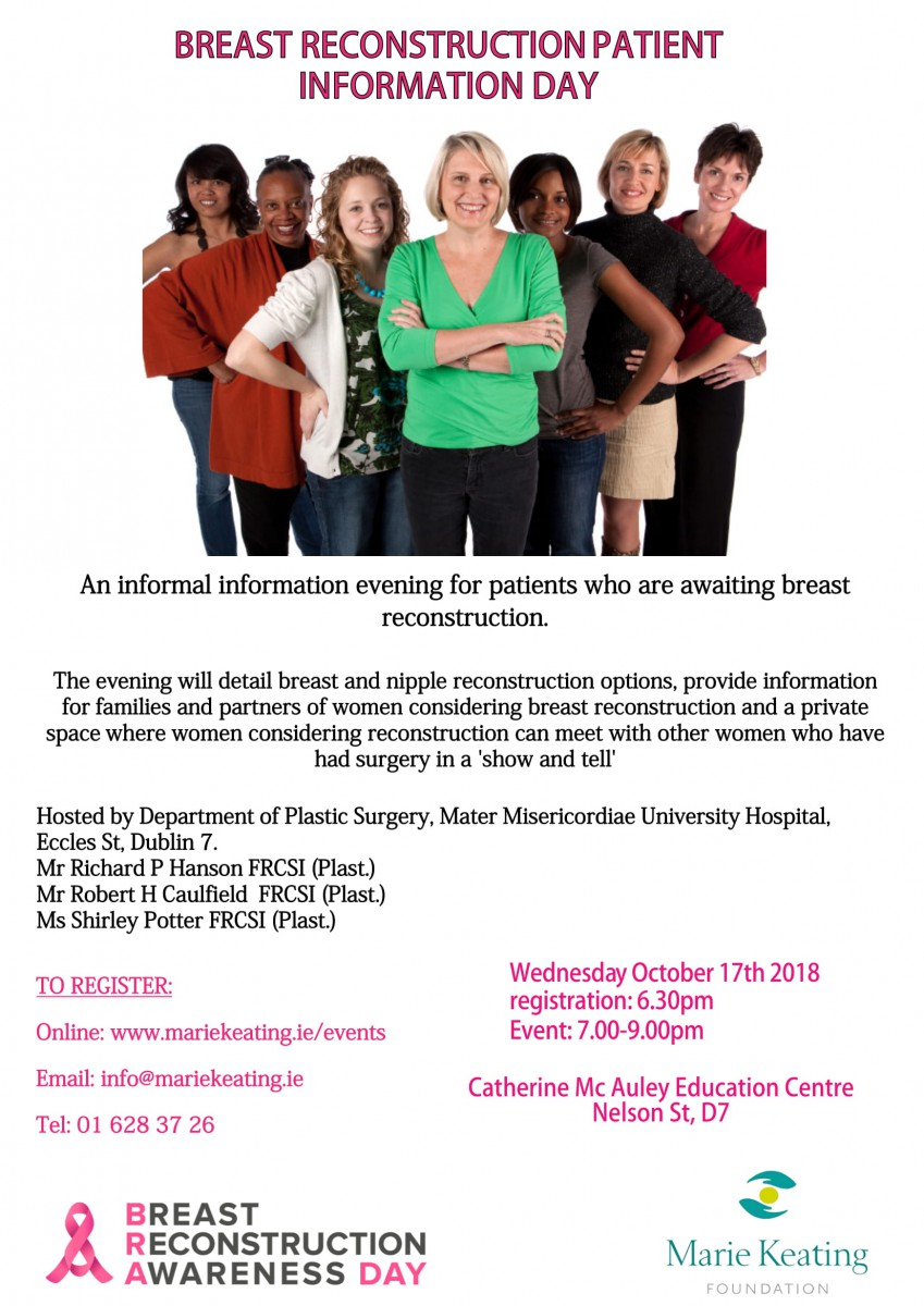 Breast Reconstruction Patient Information Day