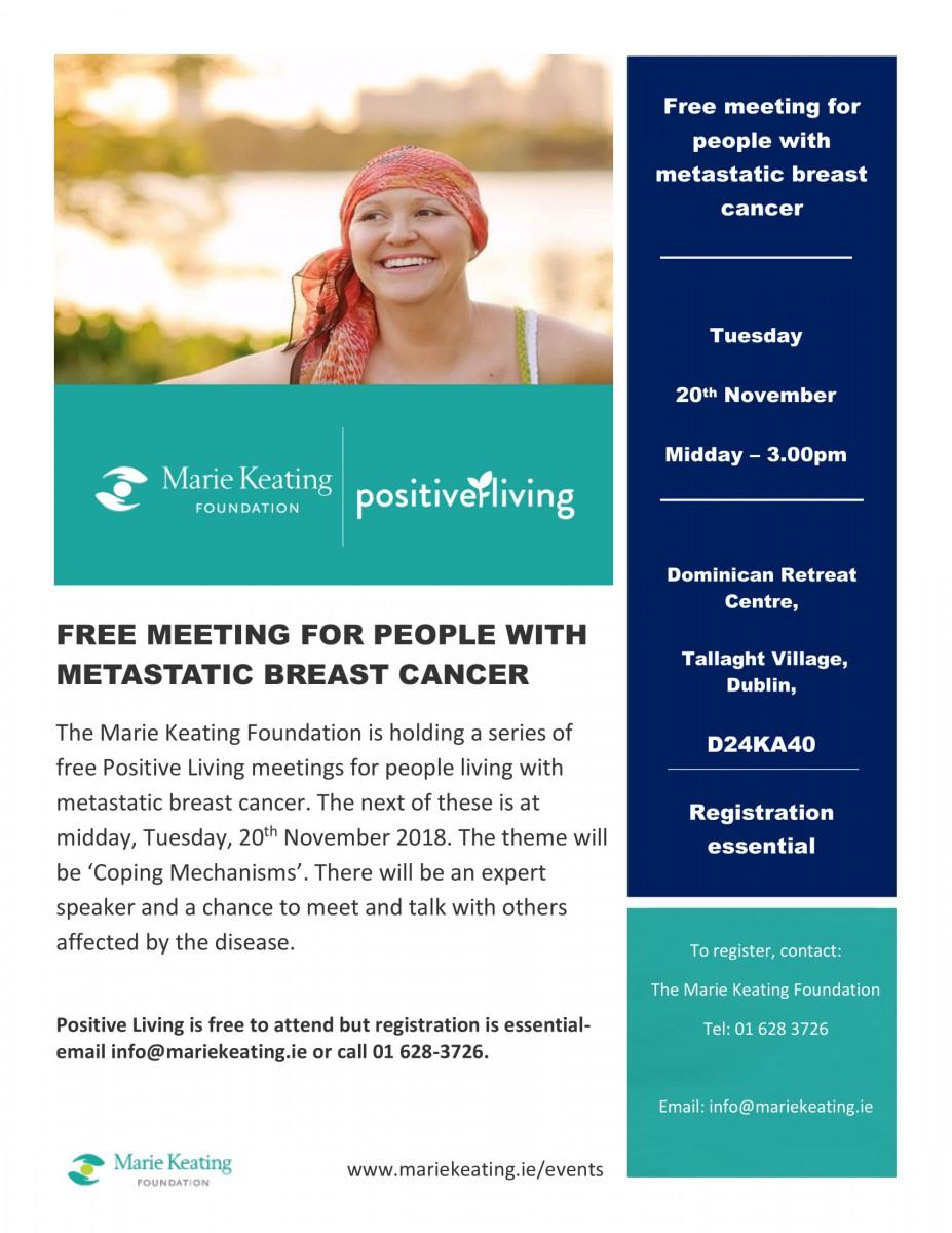 Positive Living Programme - November