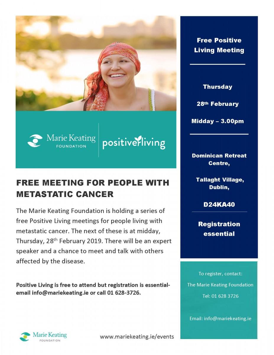 Positive Living Programme - February 2019