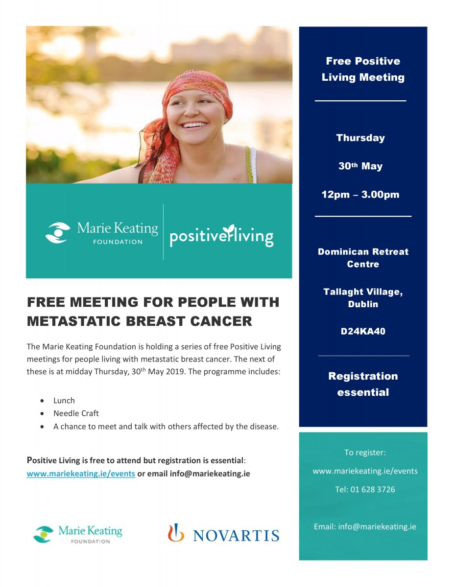 Positive Living Programme - May