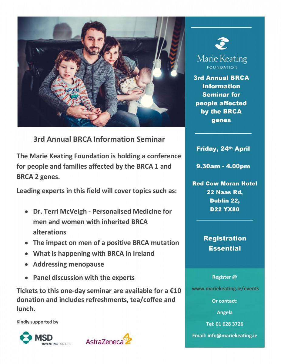 BRCA Seminar 2020
