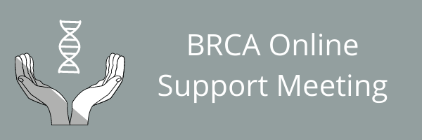 BRCA Online Support Group - 14th October 2021